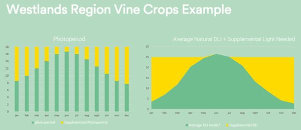 Westlands Vine Crops Example